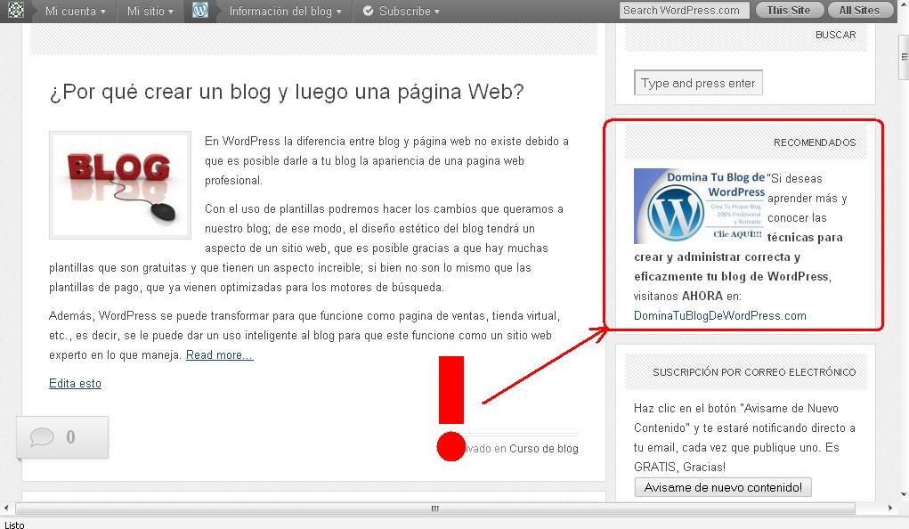 Como crear codigo HTML usando tu blog de WordPress | Como Crear Un ...